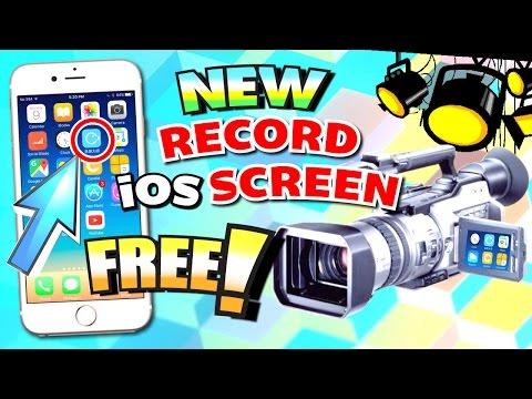 Get NEW iOS Screen Recorder FREE (NO JAILBREAK) (NO Computer/Mac) iPhone, iPad, iPod Touch iOS 10/9