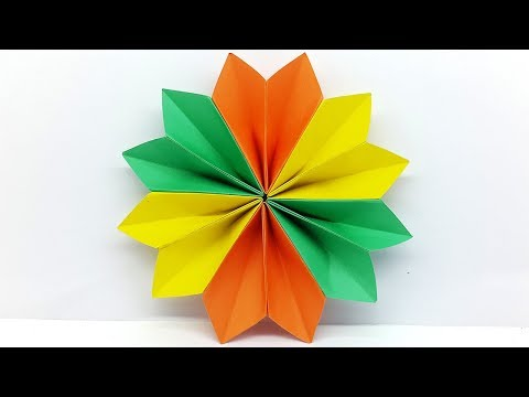 Paper Flowers Easy Tutorial - DIY Carfts Paper Flower Making for Decorations