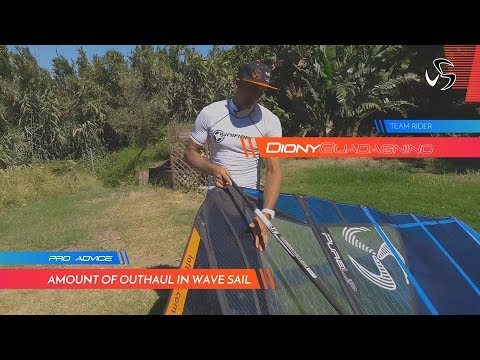 PRO ADVICE | Amount of outhaul in wave sail  | Diony Guadagnino