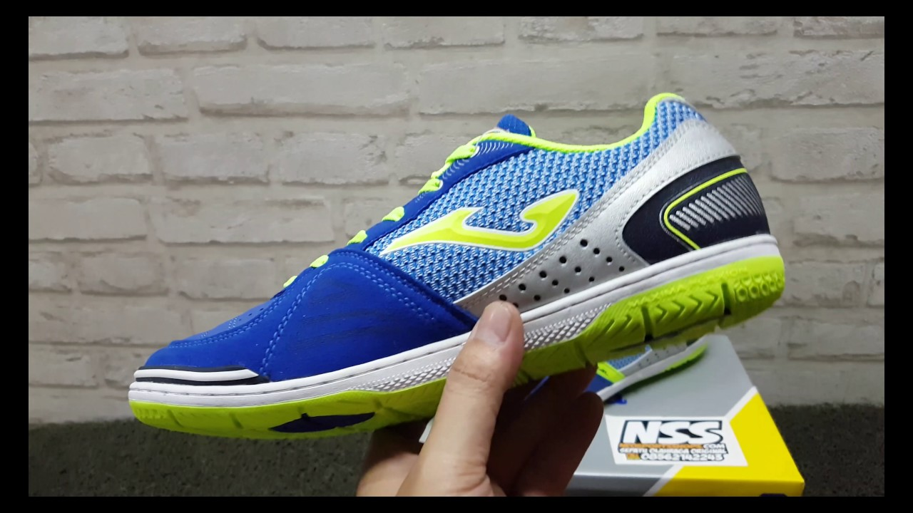 SEPATU FUTSAL JOMA MUNDIAL LEATHER ROYAL BLUE