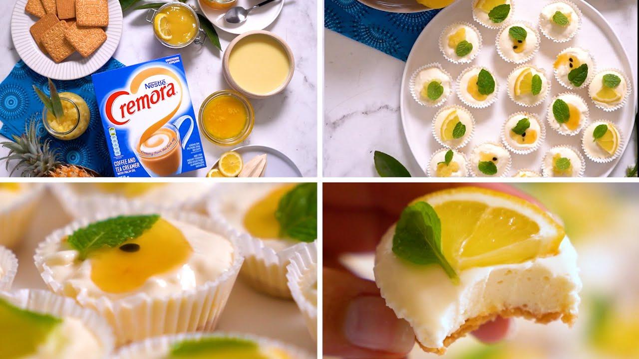 Fruity Cremora Tarts Served 3 Ways