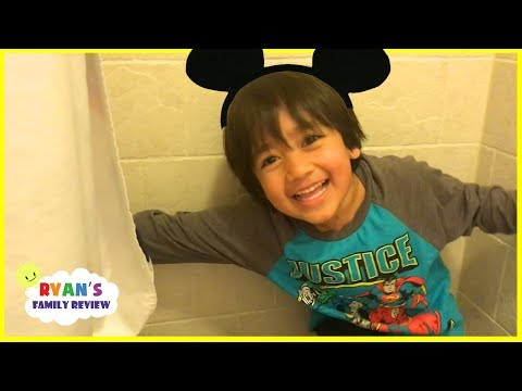 Download Youtube: Ryan's Family plays Hide And Seek at Disney Hotel