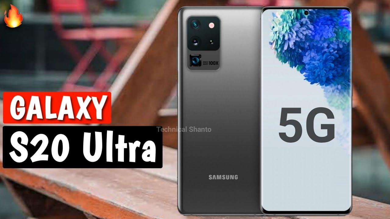 Samsung Galaxy S20 Ultra 5G - The Flagship Monster | 108MP, 100x Zoom, 5000mAh
