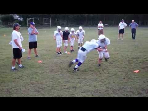 Gauntlet Drill: 5th Grade Youth Football