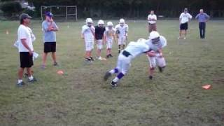 Gauntlet Drill: 5th Grade Youth Football