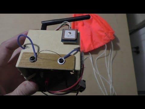 Arduino Mini Radiosonde Part 7 (v2, Hotwire Cutdown)