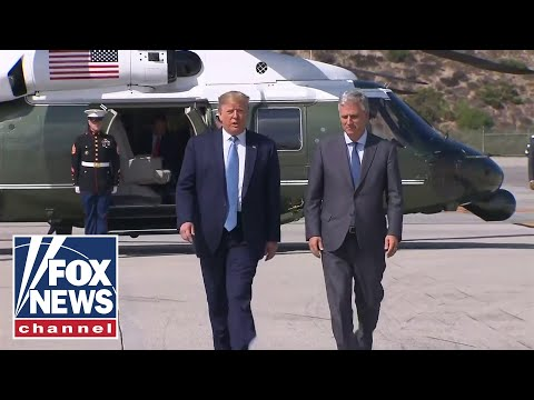 Trump, new National Security Adviser Robert O'Brien speak to reporters