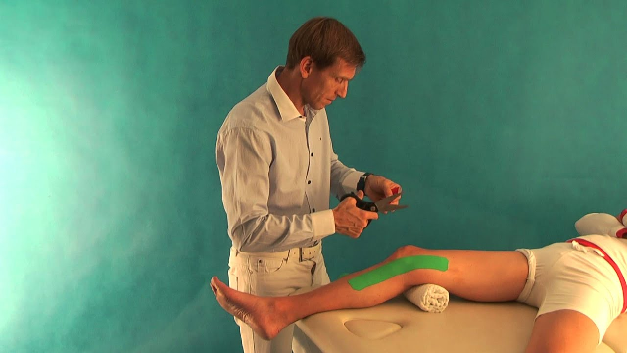 Tape Kinesiology Innenband Kniegelenk Ligamentum Collaterale Tibiale ...