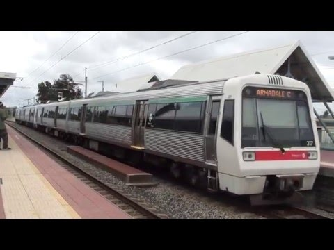 Trains and buses at Cannington - Perth Transport