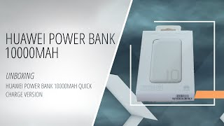 Huawei Power Bank 10000mAh Quick Charge version (Unboxing)