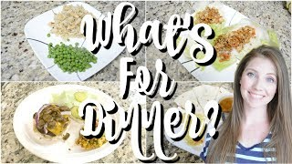 WHAT'S FOR DINNER | EASY DINNER IDEAS | WORKING MOM EASY DINNERS | AFFORDABLE DINNER IDEAS