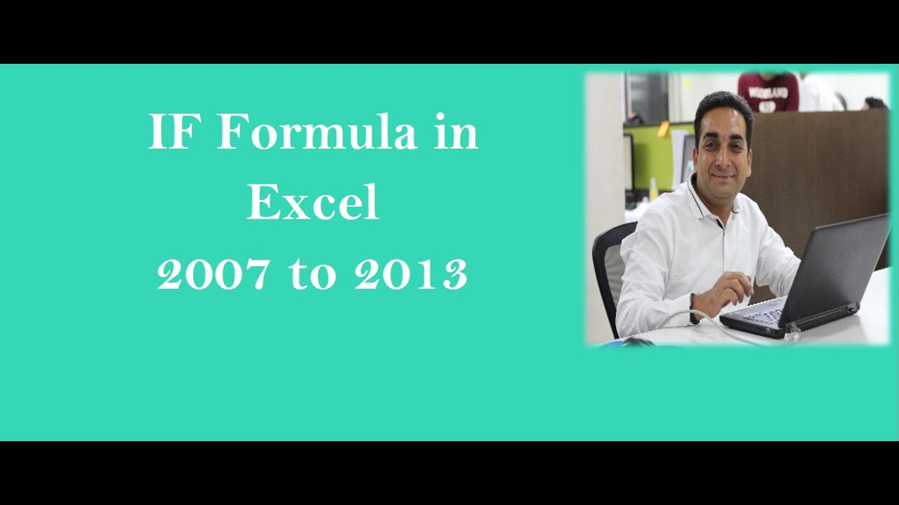 How To Write Hindi Numbers In Excel 2007 - if formula in