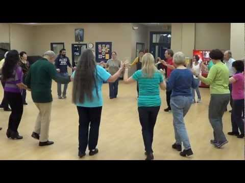 RUM DUM DUM Yugoslav Dance @ 2012 Arden Folk Gild Workshop in Newark, DE with IRA WEISBURD