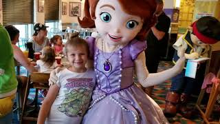 Hollywood & Vine Meeting Disney's Sofia the First, Doc McStuffins, Jake, and Handy Manny