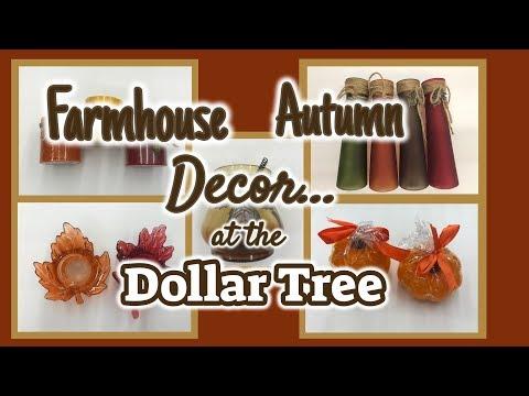 NEW Autumn FARMHOUSE Decor | GREAT NEW Items at the DOLLAR TREE