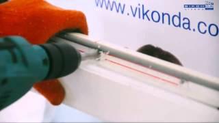 Автоматический клапан приточной вентиляции AERECO