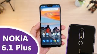 អ្វីដែលអ្នកត្រូវដឹងពី Nokia 6.1 Plus ($269)