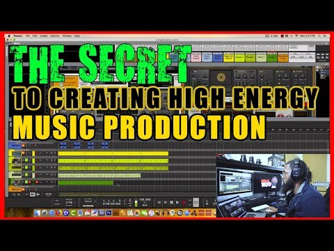THE SECRET SAUCE TO GIVING YOUR BEATS THAT HIGH ENERGY FEEL IN PROPELLERHEAD REASON 10