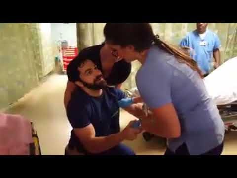 Surprise Proposal in NJ Emergency Department