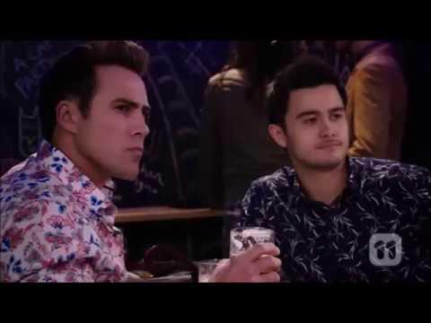 David, Aaron, Amy scene 6 ep 7736