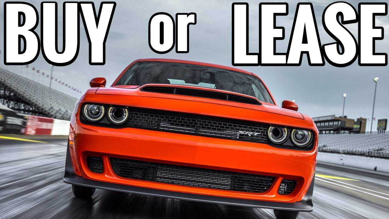 Should You Lease Or Finance A Dodge Challenger