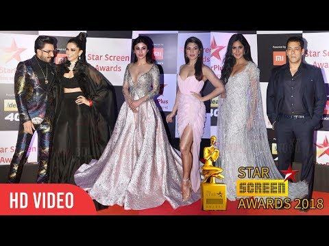 Star Screen Awards 2018 | Full Show | Salman Khan, Katrina, Tiger, Deepika, Ranveer, Shraddha