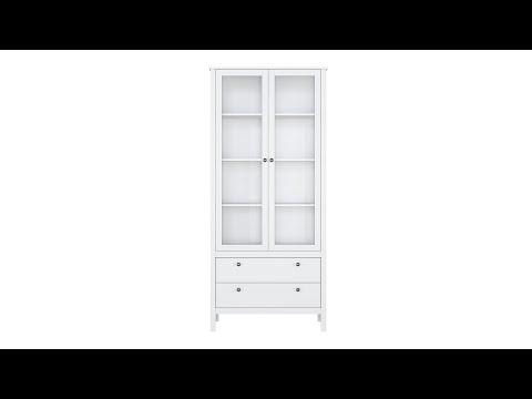 Шкаф REG2W2S цвета белый