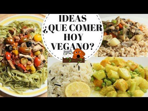 IDEAS ¿QUE COMER HOY? VEGANO -Transición Vegana