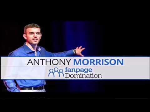 Steve Olsher Presents:  Anthony Morrison Live - Learn To Build Your Own $5,000/mo Facebook Fan Page