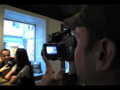 Safura - Eurovision 2010, Azerbaijan - Safura on air at radio Metropol 98,3 in Stockholm
