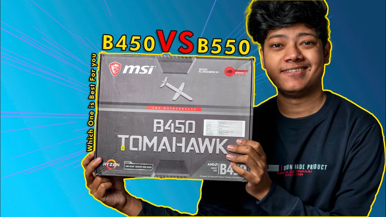 B450 VS B550 Motherboard - Which one Is Best For Ryzen 3600 & 5600x Series CPU