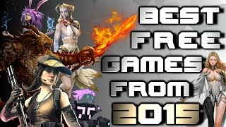 Best Free to Play Games of 2015