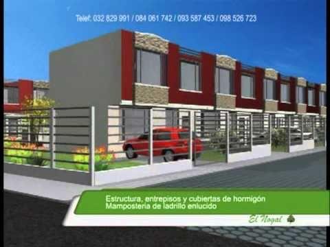 Casas en venta conjunto habitacional el nogal en la for Conjuntos de jardin modernos
