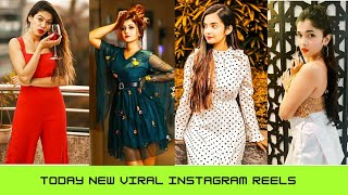 Today Latest Instagram Reels Videos All Famous Tiktokers! Latest Today Viral ||Perfectgirlyhacks||
