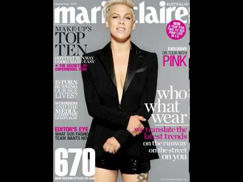 Behind The Scenes: Interactive P!NK Cover for Tablet Edition (Sept 2013)