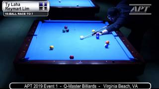 2019 Event 1: Ty Laha vs Reymart Lim (Hot Seat Match)