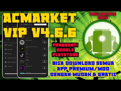 ACMARKET VIP V4.6.6 MOD Terbaru 2019, Download Berbagai Apps Premium Dgn Mudah & Gratis  Di AcMarket
