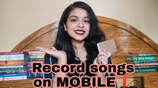 Record Songs with Background Music on Mobile | Tutorial | Autandrila screenshot 1