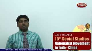 The Nationalist Movement in Indo-China- Class 10th CBSE Social Studies Syllabus Live Videos