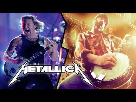 Metallica ★ Wherever I may Roam BANJO   @banjoguyollie