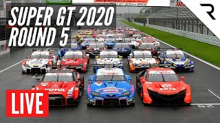 SUPER GT 2020 Round 5 -  LIVE, Full Race, English - Fuji Speedway