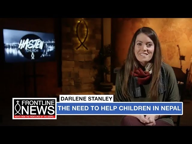 Darlene Shares Story About Kids in Nepal