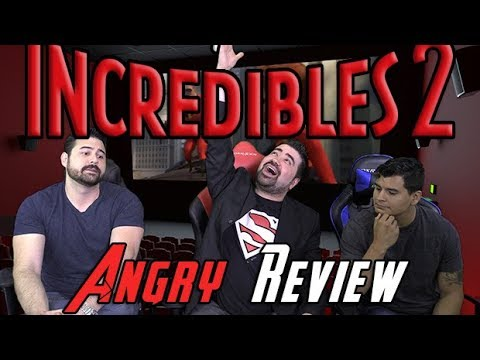 Incredibles 2 Angry Movie Review