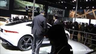 Walk around Jaguar's stall (Uncut) - Auto Expo 2014 Delhi,India