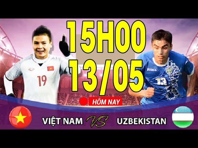 Việt Nam - Uzbekistan   Sát Thủ Văn Đức Trở Lại Sau Chấn Thương Sẽ Giúp ĐTVN Tiến Gần Đến World Cup!