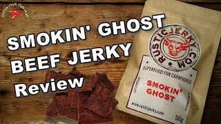 Smokin' Ghost Chilli Beef Jerky by RUSTIC JERKY Review