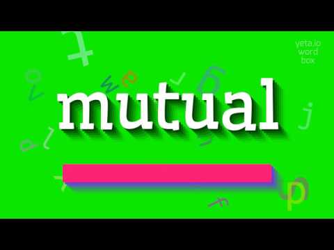 """How to say """"mutual""""! (High Quality Voices)"""