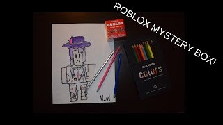 OPEN ROBLOX MYSTERY BOX et DRAW THE CHARACTER FOUND INSIDE THE BOX!
