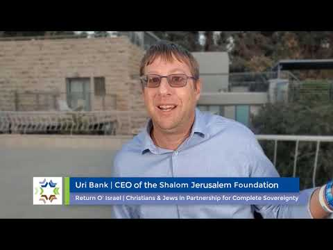 ROI 2-Part Series with the Shalom Jerusalem Foundation