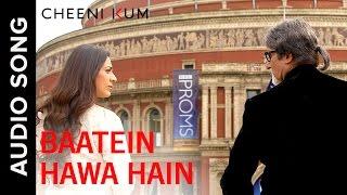 Batein Hawa Hain (Full AudioSong) | Cheeni Kum | Amitabh Bachchan & Tabu